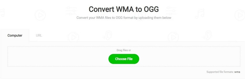 Convert WMA to Ogg with MP3Cutter