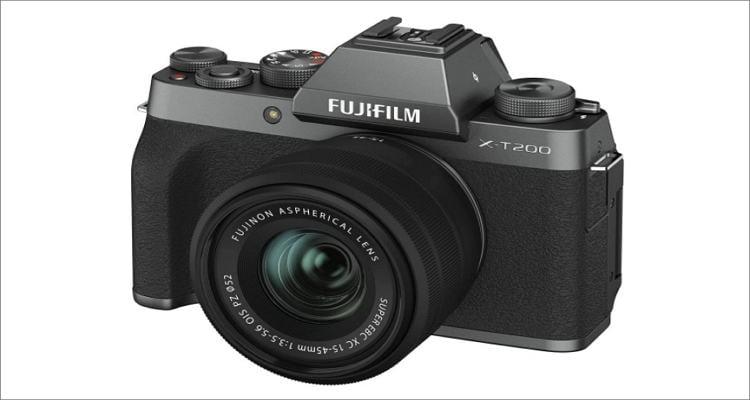 best camera for recording youtube videos fujifilm x t200