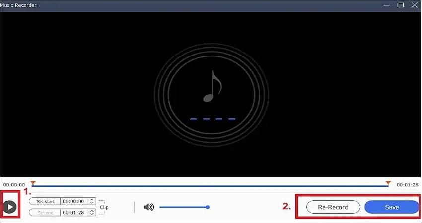 record audio from youtube with acethinker music recorder