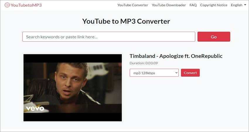 record audio from youtube with youtube to mp3 converter