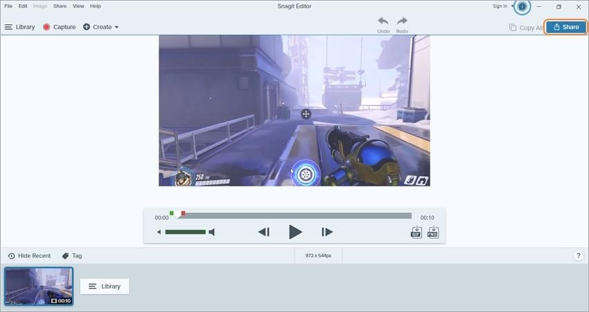 record youtube live stream with snagit edit and share recorded video