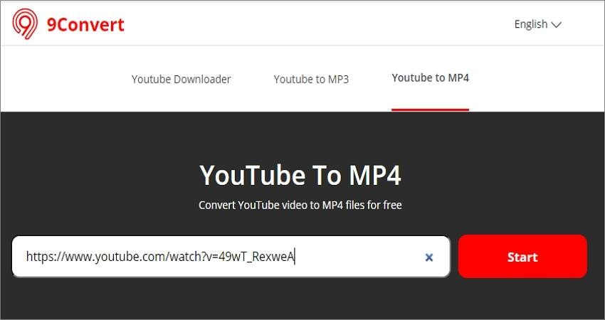 youtube converter mp4 for android 9convert