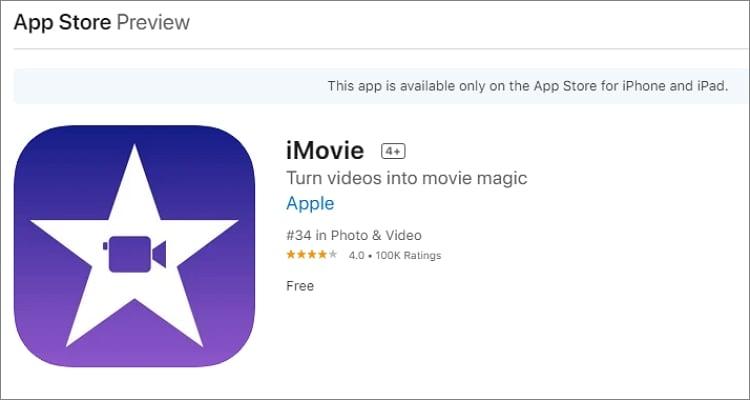 youtube recording app imovie