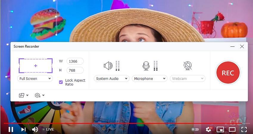 youtube recording software wondershare uniconverter