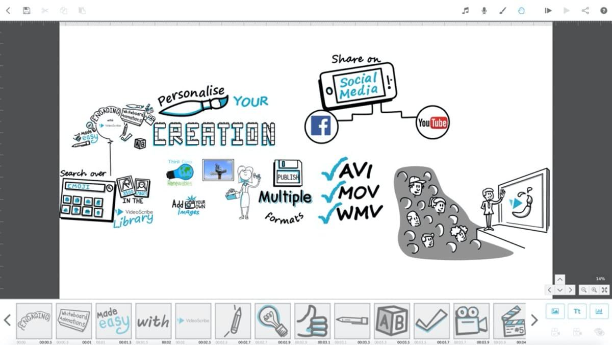 videoscibe-interface