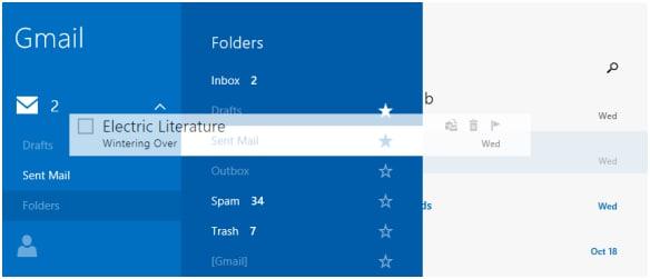 Neue Mail-App von Windows 10