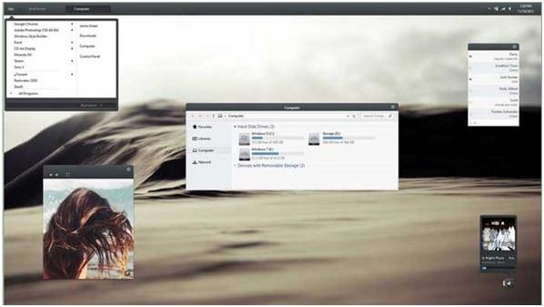 Os 10 melhores temas do Windows 10 para Windows 8
