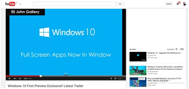 Learn more about Windows 10 from 5 trailers